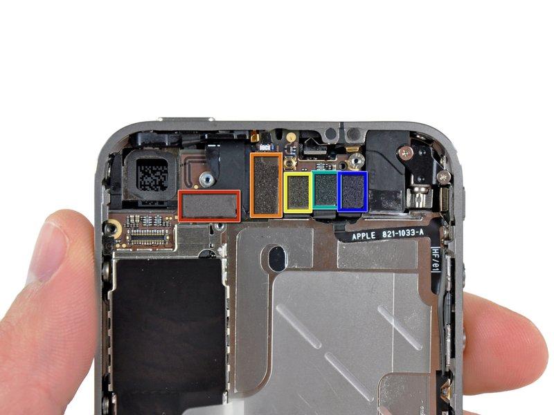 Замена кнопки блокировки на iphone 5