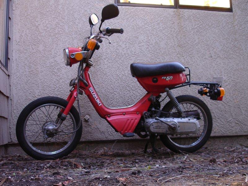 Suzuki 49cc Motorcycle