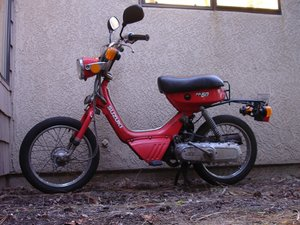 Suzuki FA50 Moped Repair