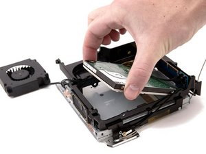 Installing Mac mini (PowerPC) Hard Drive