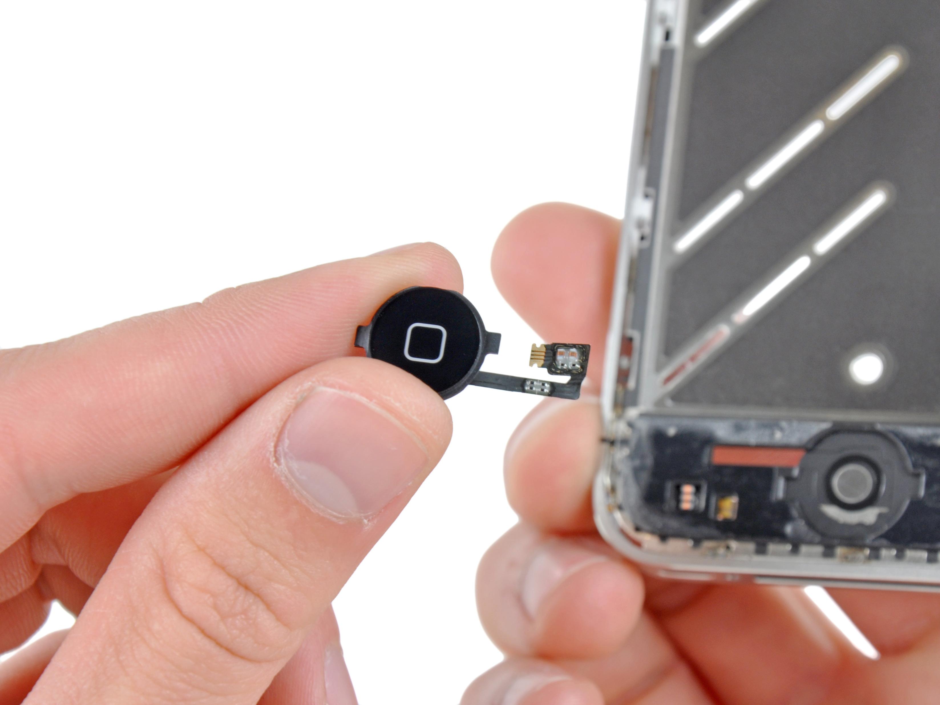 Замена кнопки home на ipad 4 своими руками с фото