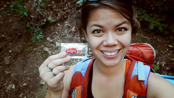 Using Sugru while backpacking in Big Sur