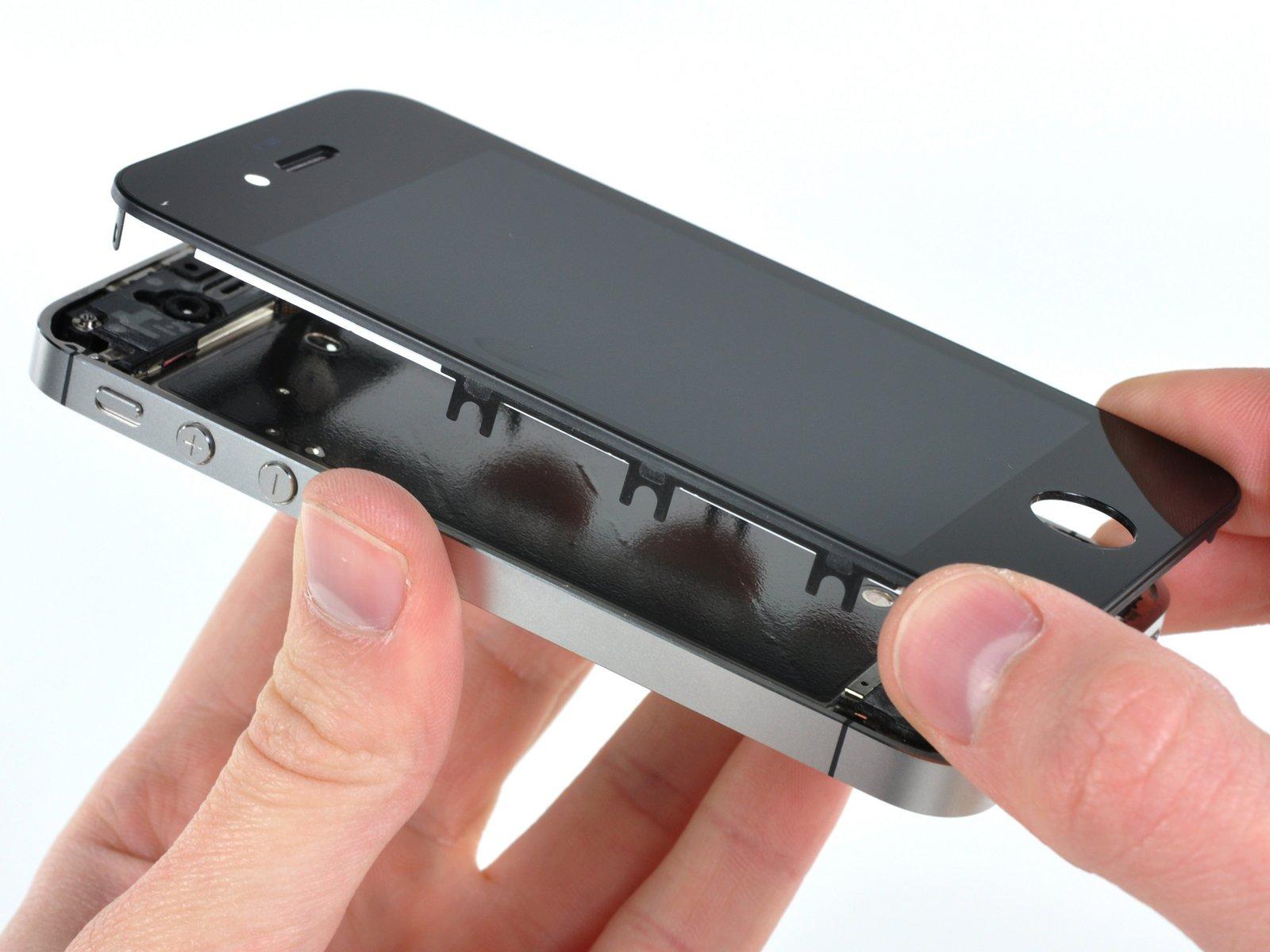 Айфон 4 замена экрана