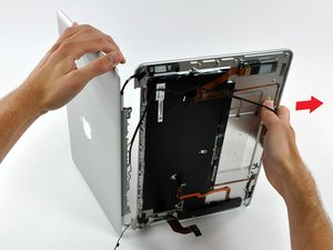 Installing MacBook Air Models A1237 and A1304 Display Assembly