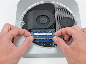 Installing Mac Mini Late 2012 RAM