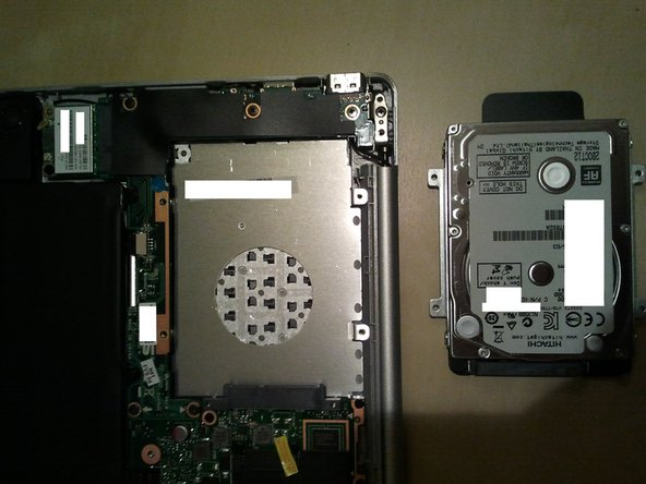 تعویض HDD لپتاپ 2