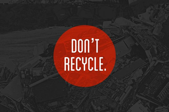 repair is better than recycling graphic
