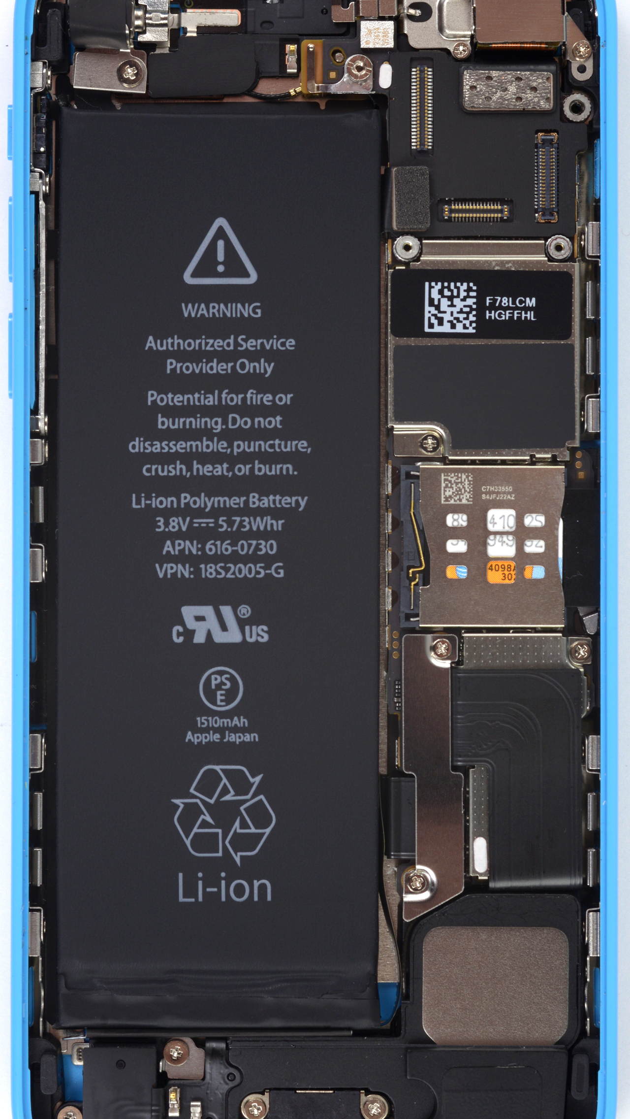 Iphone 5s c and imac internals wallpapers ifixit for Interior iphone x