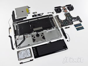 "MacBook Pro 15"" Unibody Mid 2010 Teardown"