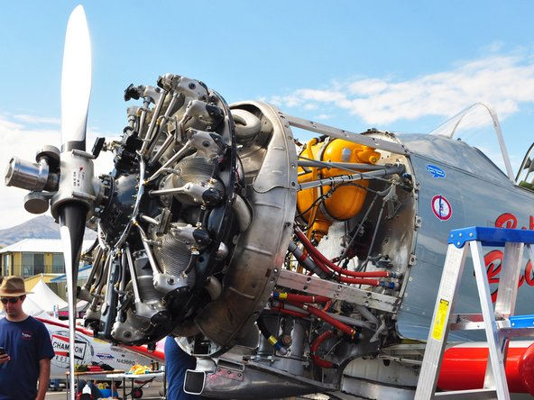 Airplanes torn down at the Reno Air Races