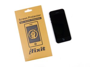 Installing iPhone 5 Screen Protector