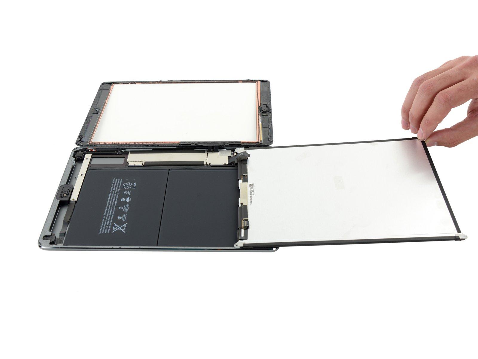 как поменять стекло на айпад видео