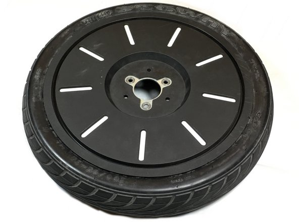 Once the inner tube has been completely seated again, then you can inflate the inner tube and will successfully have a replaced inner tube in your Segway tire.