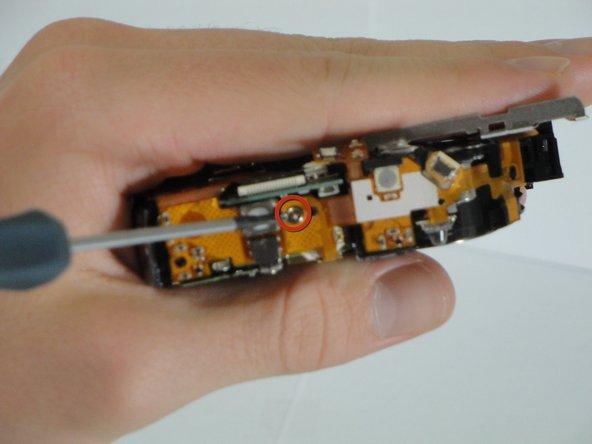 Remove 1 3.8mm screw.