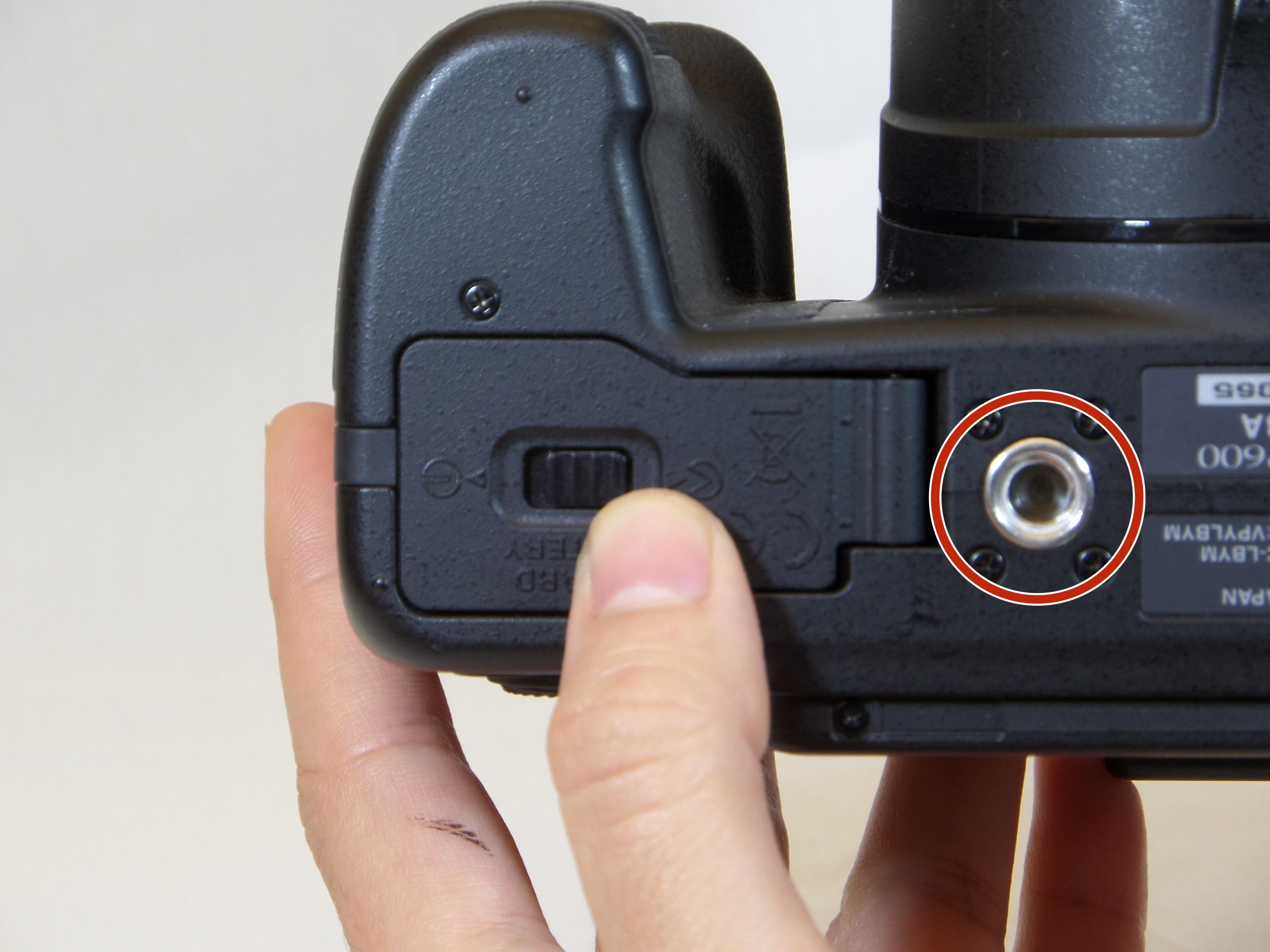Nikon Coolpix P600 Repair Ifixit Camera Parts Diagram Tripod Mount