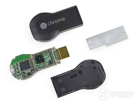 We've decided not to assign a repairability score to the Chromecast.