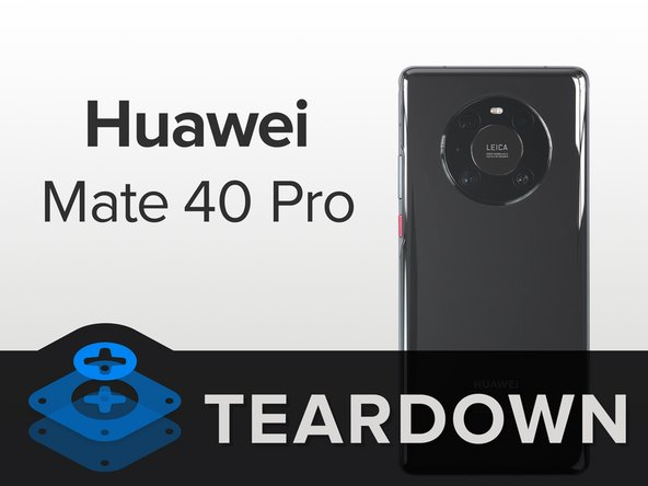 These days, a smartphone can't compete on specs alone. But that won't stop anyone trying—and the Mate 40 Pro certainly tries. Our teardown unit includes: