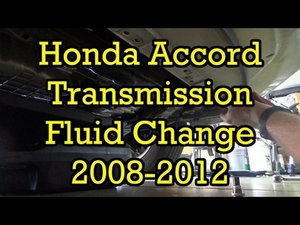 2011 honda accord transmission fluid change cost