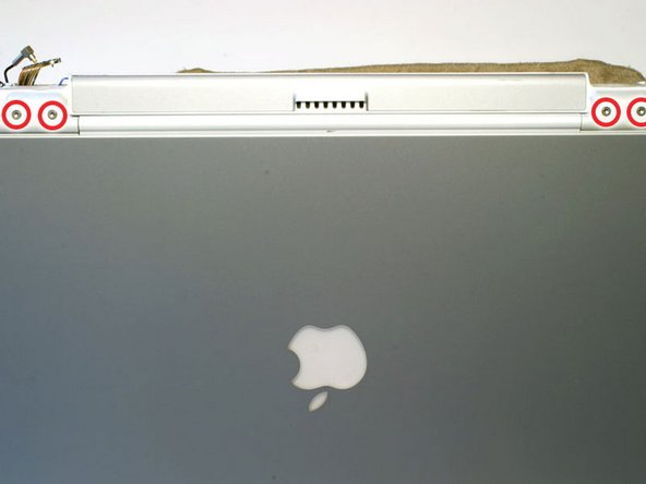 PowerBook G4 Titanium Mercury Display Replacement