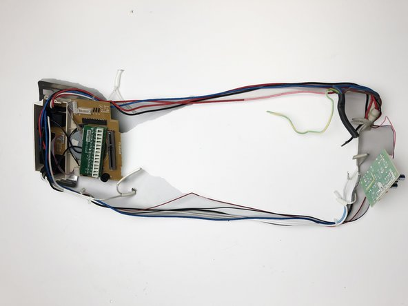 Separate the electric components from the interior body