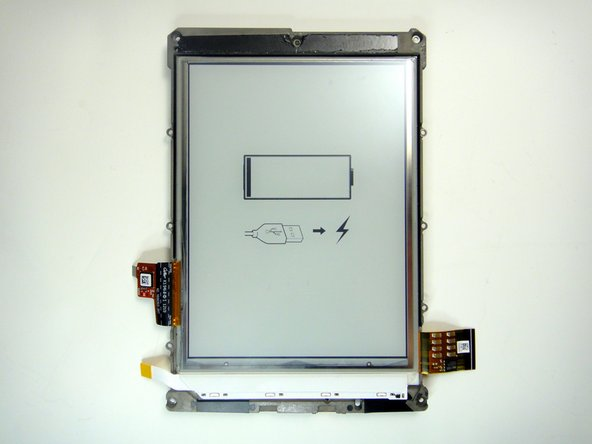 Image 2/2: The screen is glued to the midframe, so some [https://www.ifixit.com/Guide/iOpener+Instructions/11677|heat|new_window=true] and gentle spudging will be required to remove it cleanly.