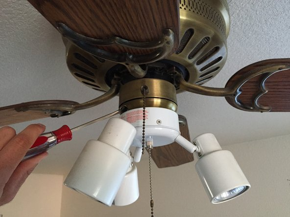 Ceiling Fan Light Fixture Replacement Ifixit Repair Guide