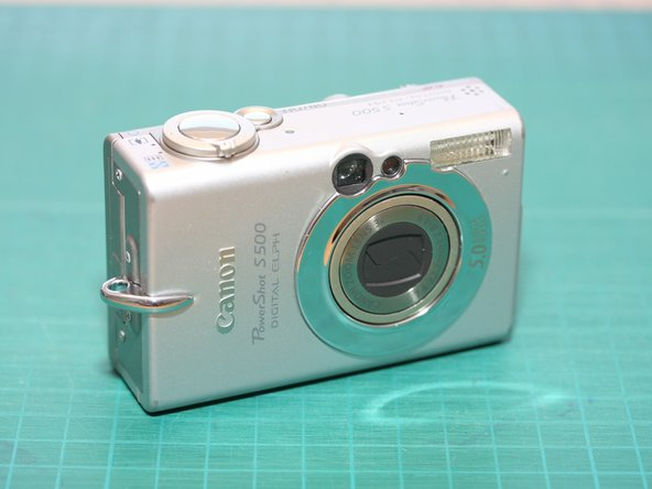 Image 2/2: Follow along to see how to take apart and repair this camera, and to see what's inside...