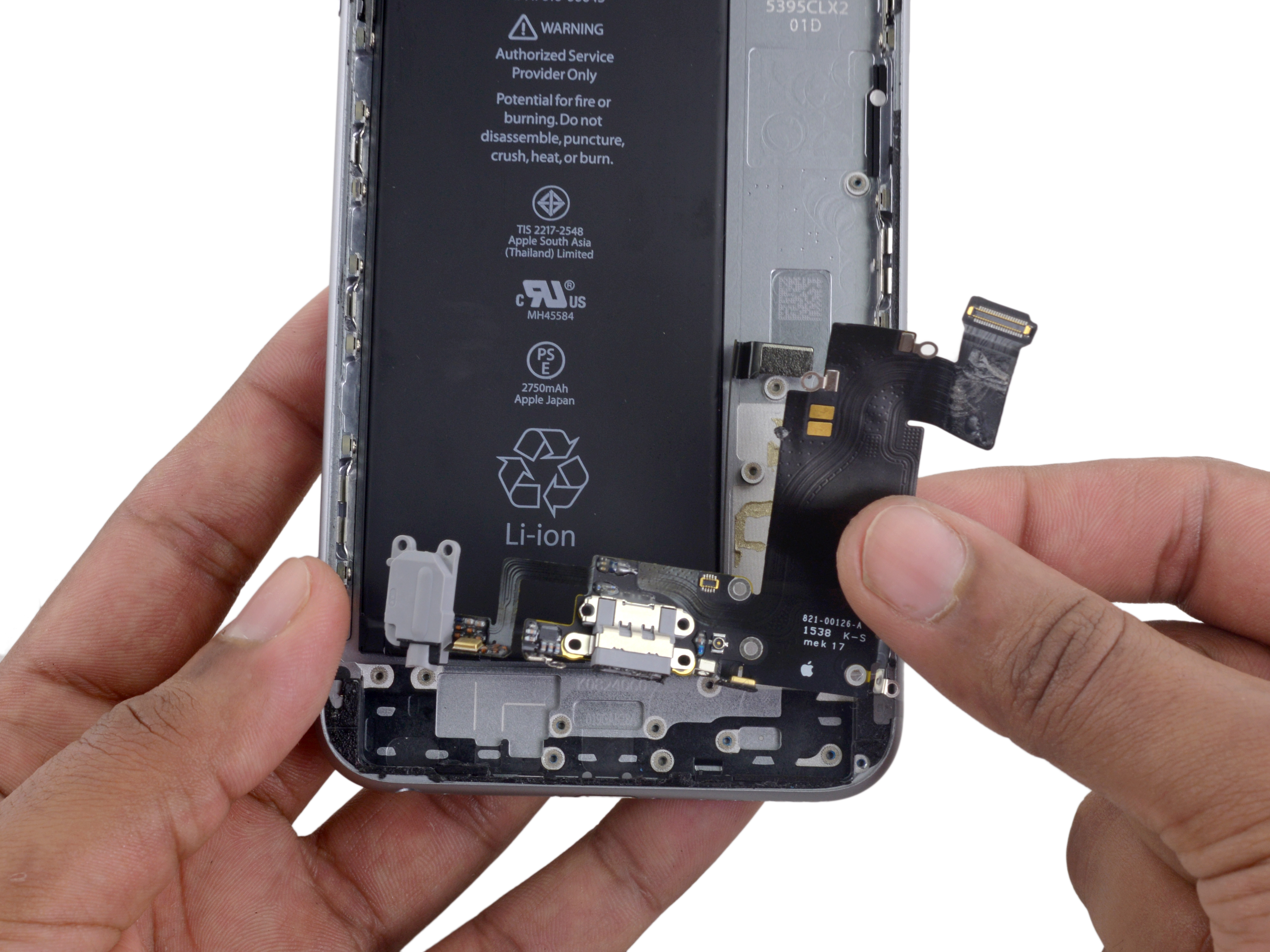 iPhone 6s Plus Lightning Connector and Headphone Jack Replacement - iFixit Repair  Guide