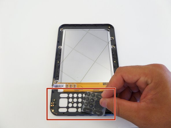 Image 1/1: When reassembling the Kindle 3, test the power switch to make sure it moves freely.