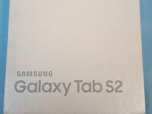 Samsung Galaxy Tab S2 Simcard Removal