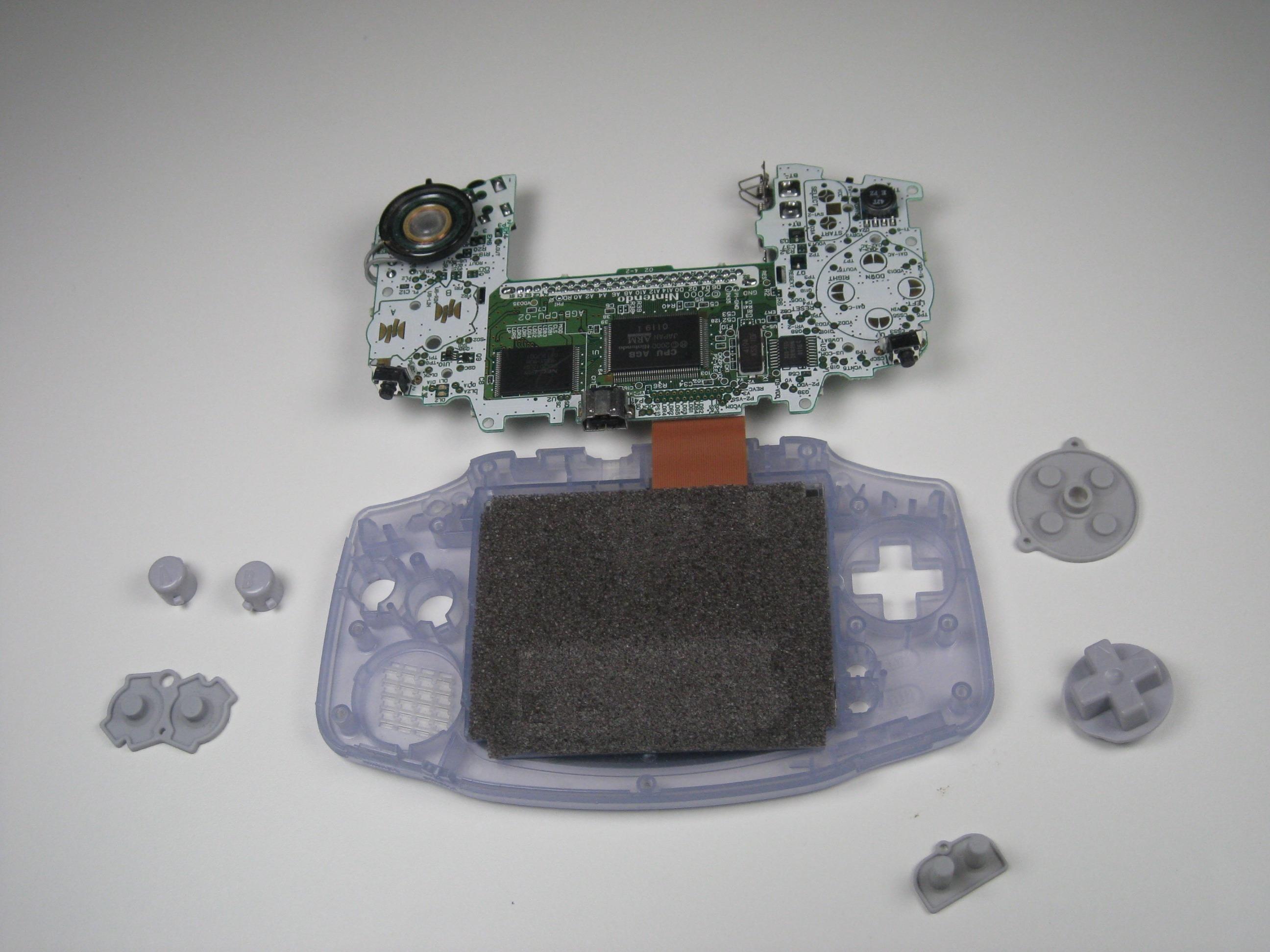 Game Boy Advance Teardown Ifixit Making Gameboy Systems Circuit