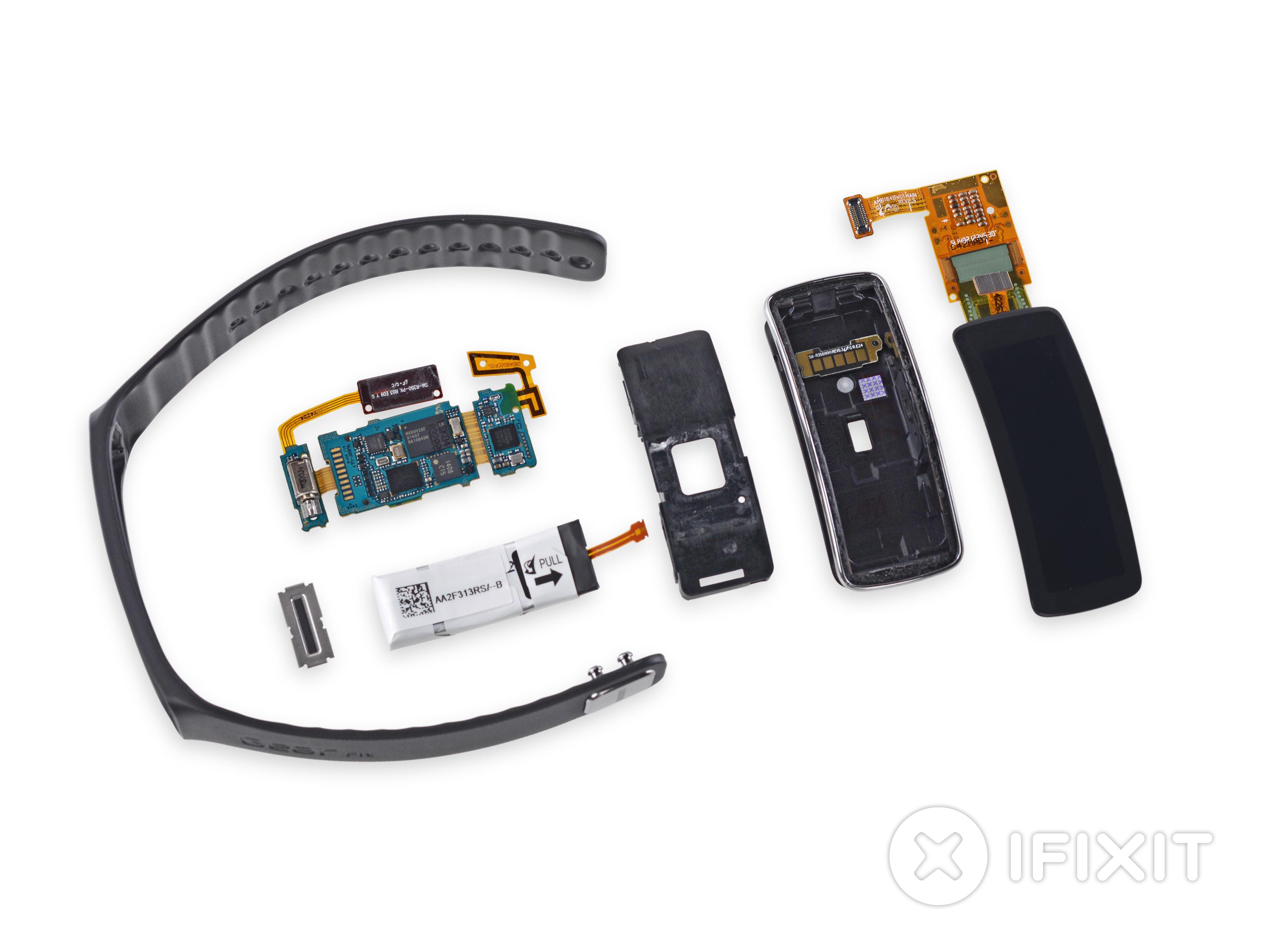 Samsung Gear Fit Teardown