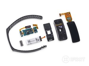 Samsung Gear Fit Teardown