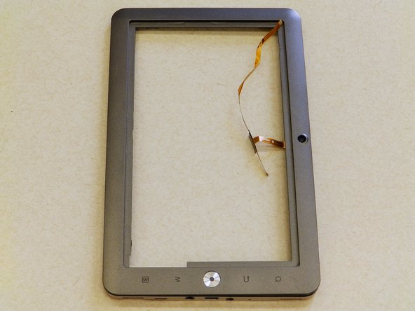 The front bezel is now free from the device and is ready to be repaired or replaced.