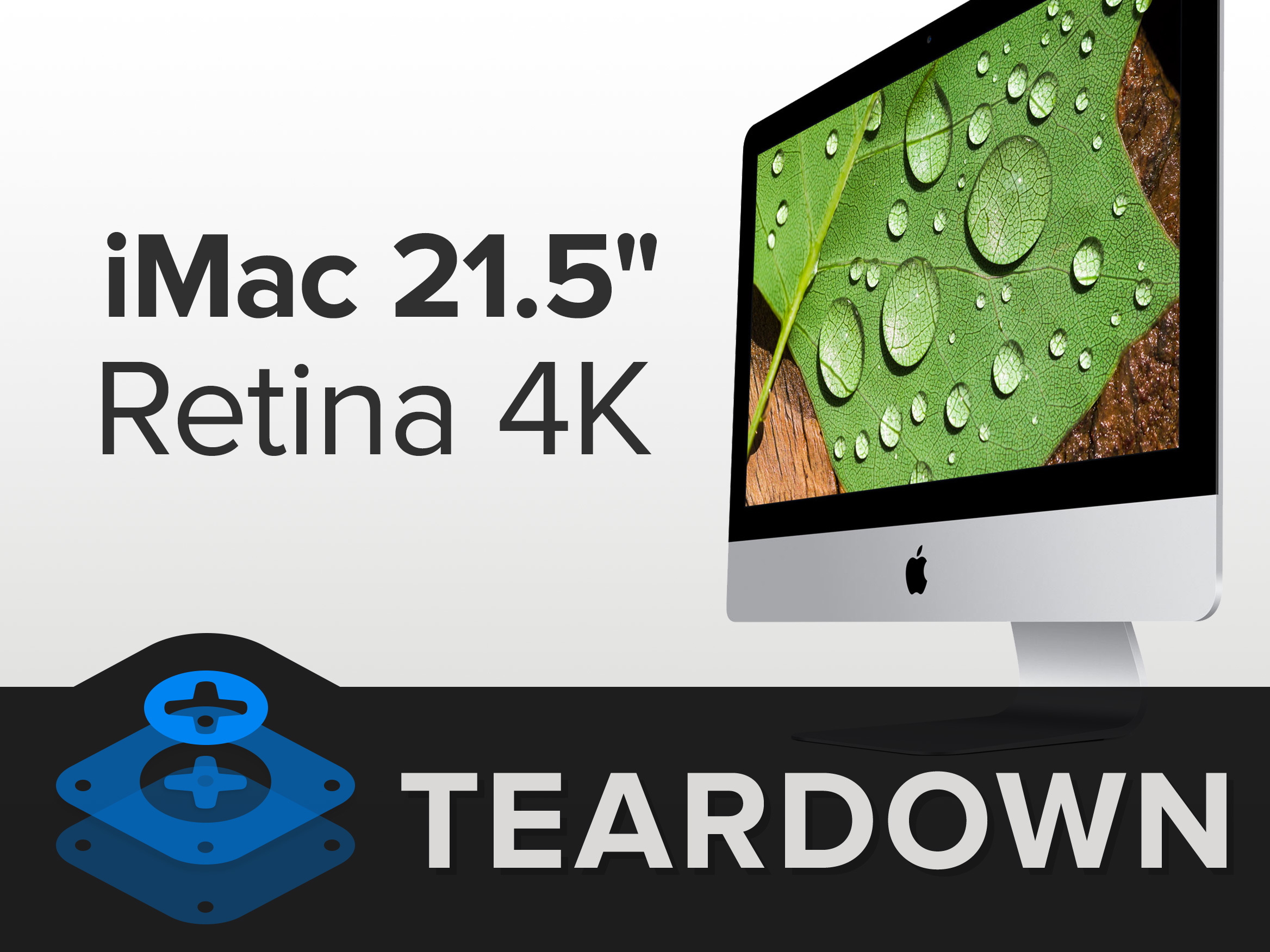 imac intel 21 5 retina 4k display teardown ifixit. Black Bedroom Furniture Sets. Home Design Ideas