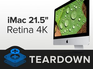"iMac Intel 21.5"" Retina 4K Display Teardown"