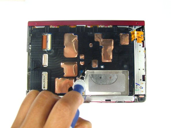Disassembling Sony Reader Touch Edition PRS-600 Inner Casing
