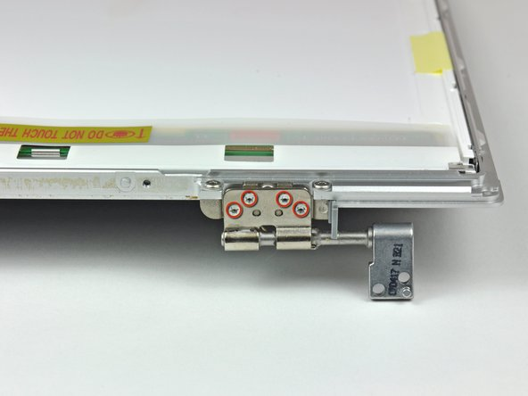 "MacBook Pro 15"" Core 2 Duo Models A1226 and A1260 Left Clutch Hinge Replacement"