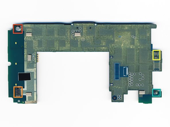 The back of the motherboard is relatively featureless, with a few notable exceptions: