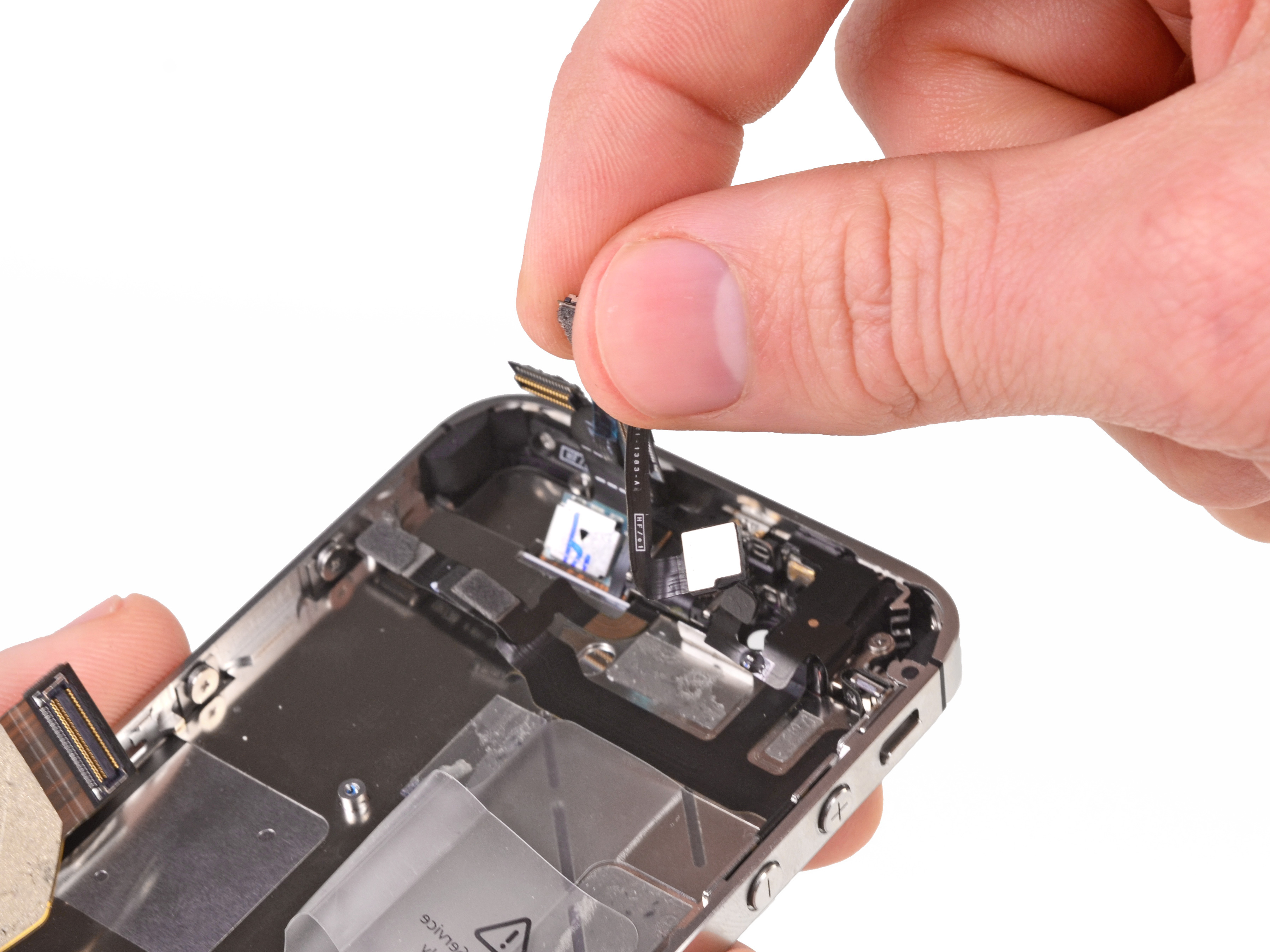 Iphone 4s front facing camera replacement ifixit for Interieur iphone 7