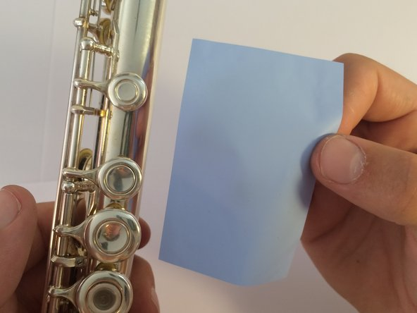 When practicing the flute for a good amount of time, finger keys often get sticky. This can affect the time it takes for the pressed key to return to its original open position, something fast playing musicians can't afford.