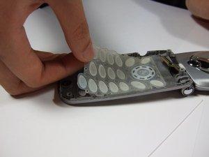 Démontage du clavier du Panasonic GU87