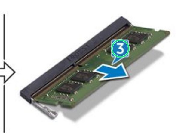Remove the memory module from the memory-module slot.