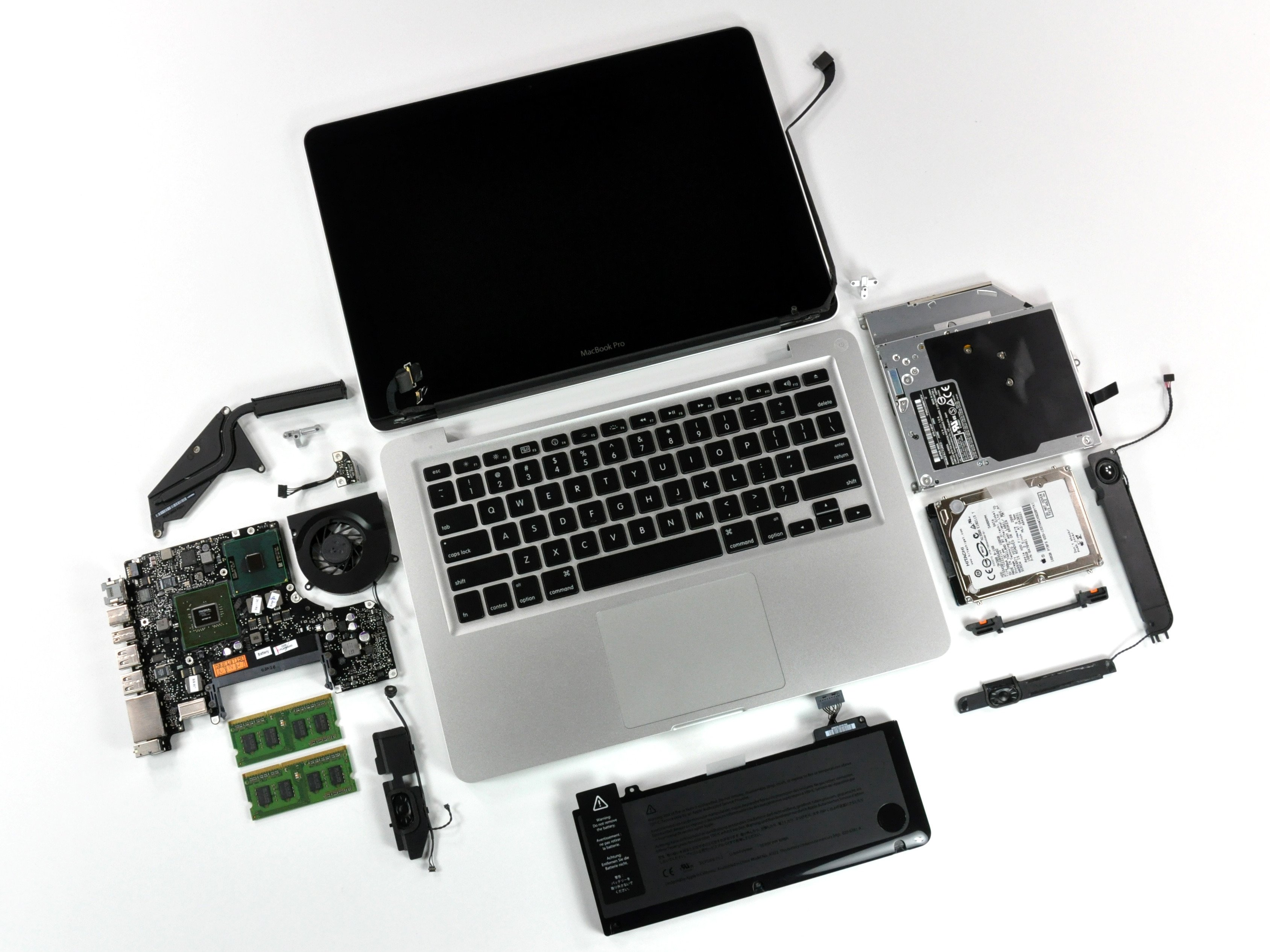 "MacBook Pro 13"" Unibody Mid 2009 Teardown"