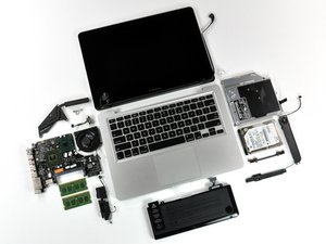 "MacBook Pro 13"" Unibody Mid 2009 Teardown"