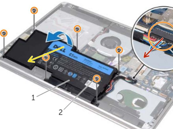 Dell XPS 15 L521X Battery Replacement