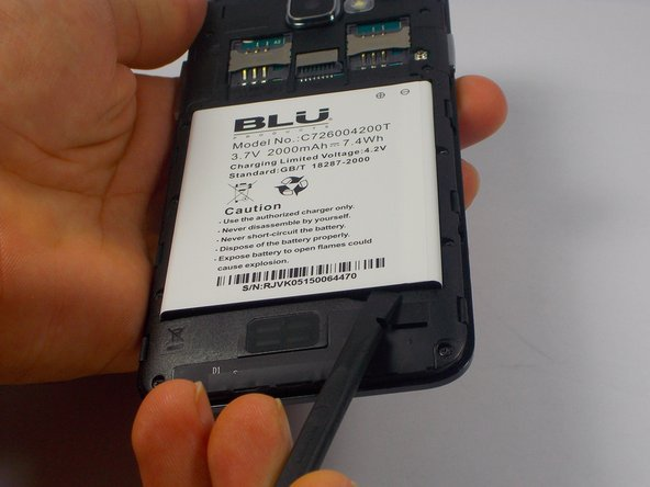 Blu Dash 5.0 Dual SIM Battery Replacement