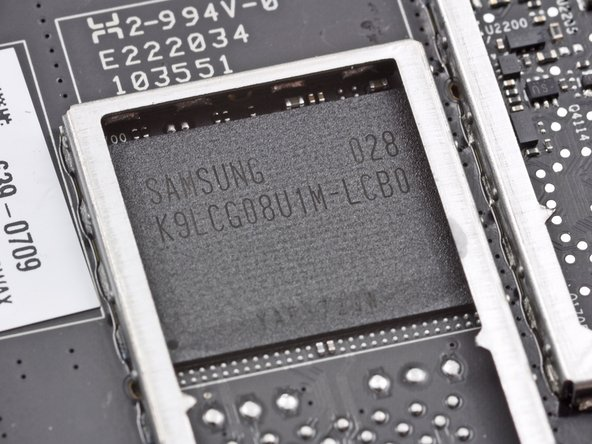 Image 1/1: What is this? A Samsung K9LCG08U1M 8GB NAND Flash chip?
