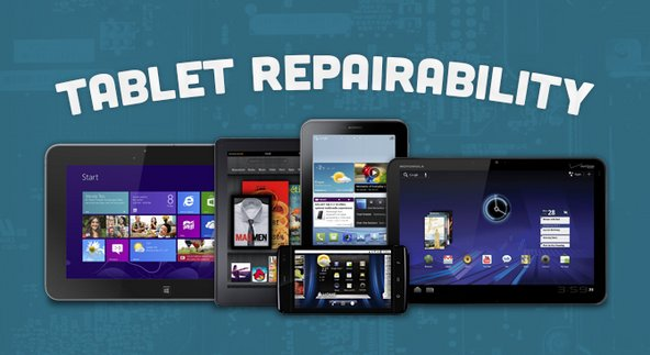 Tablet repairability guide used to take apart the iPad Mini and Nexus 7