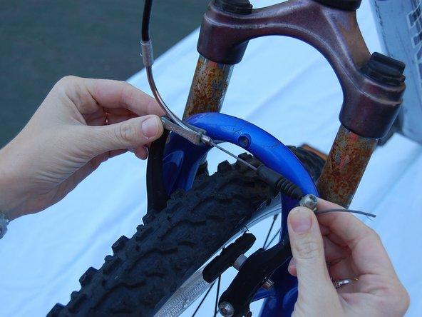 Trek 4300 Bicycle Front Wheel Replacement